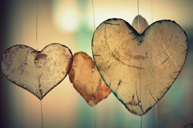coeur, l'amour, romance